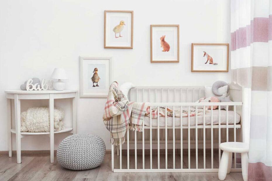 Kako opremiti sobu za bebu