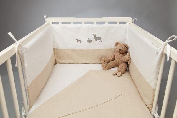 Ogradica za krevetić – Dezen Životinje
