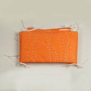 Ogradica za krevetiće za bebe – narandžasta igra 2