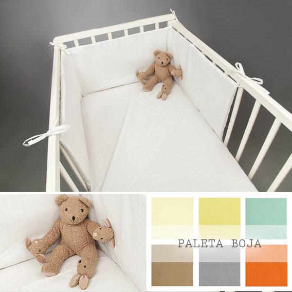 Ogradica za krevetić za bebe- Dezen Bela