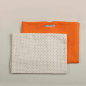 Komplet posteljine narandžasta