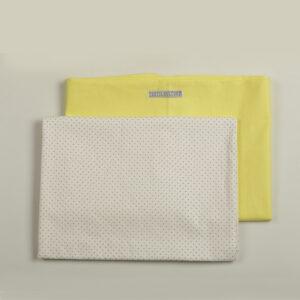 Komplet posteljine žuta