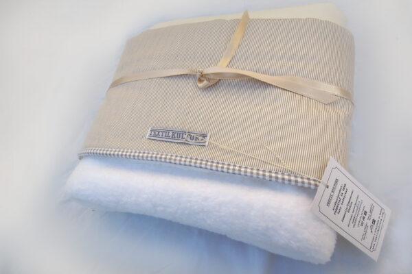 Prekrivač za bebe zimski – mleko